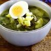 Супы из свежей зелени: зеленые щи
