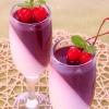 Создаем вишнево-сливочное желе