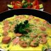 Как приготовить обычный омлет на сковороде?