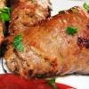Зразы из говядины по-варшавски