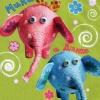 Как сделать влюбленных слоников своими руками
