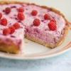 Открытый творожный пирог