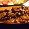Как приготовить говядину с солеными огурцами
