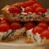 Как приготовить  пирог с риккотой и помидорами