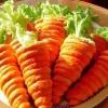 """Салат в """"морковках"""" из слоеного теста"""