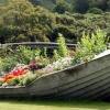 Старая лодка - идеи для дизайна сада