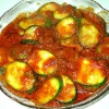 Кабачки с томатным соусом