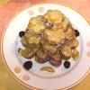 Печенье с ежевичным кремом
