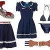 Морской стиль одежды – идеальный вариант для лета