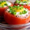 Как приготовить помидоры, фаршированные яйцами
