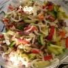 Как приготовить теплый салат с говядиной и морковью