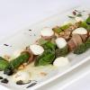 Как приготовить салат с беконом, рукколой и спаржей
