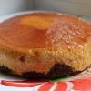 Как приготовить карамельный торт-суфле