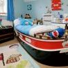 Каюта юного капитана – комната для мальчика в морском стиле