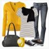 Желтый цвет в гардеробе
