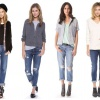 Мужской тренд в женском гардеробе: джинсы бойфренды