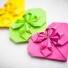Как сделать объемное сердечко из бумаги