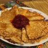 Полезные овсяные блинчики - вкусный десерт