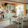 Стиль шебби-шик в интерьере кухни