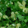 Как приготовить салат из черемши и свежего картофеля