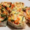 Как приготовить рулет из армянского лаваша  с соусом из чеснока и горчицы