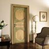 Как покрасить дверь в два цвета