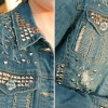 Как украсить джинсовую куртку своими руками