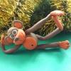 Как сделать обезьянку к Новому году из пластилина