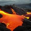 Гавайские действующие вулканы Килауэа и Мауна-Лоа