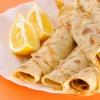 Французские крепы с лимоном и рикоттой
