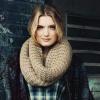 Как связать шарф-снуд спицами