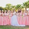 Плюсы и минусы одинаковых платьев подружек невесты
