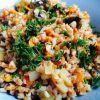 Вкусная и ароматная гречка с грибами и овощами