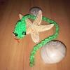 Как сплести из резинок змейку