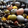 Как покрасить яйца к Пасхе натуральными красителями в домашних условиях
