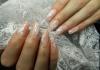 Наращивание ногтей 3D гелем