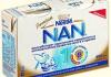 """Детская молочная смесь """"Nestle"""" Nan 1 и Nan 2"""