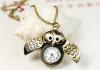 Часы Aliexpress (на цепочке в виде совы New)