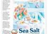 Натуральная пищевая морская соль Marbelle мелкая
