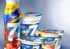 Молочные продукты Danone