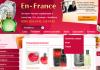 Интернет магазин парфюмерии и косметики En-France