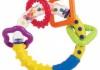 Погремушка-прорезыватель Canpol babies «Кольцо с фигурами»