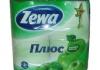 Туалетная бумага Zewa Плюс «Аромат яблока»