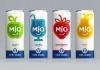 Безалкогольный напиток - mio milk shake
