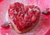 """Клубничный пирог """"Ко дню всех влюблённых"""""""