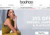 BooHoo продажа одежды