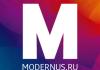 """Интернет-магазин """"Модернус"""""""