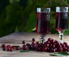 As in the home of the cherries to make wine