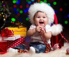 Как отметить первый Новый год ребенка
