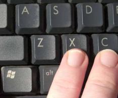 Горячие клавиши или как скопировать без мышки